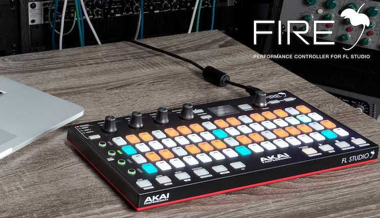 Review Akai Fire Controller For Image Line Fl Studio 20